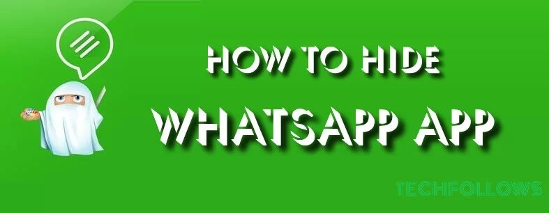 how to hide whatsapp app