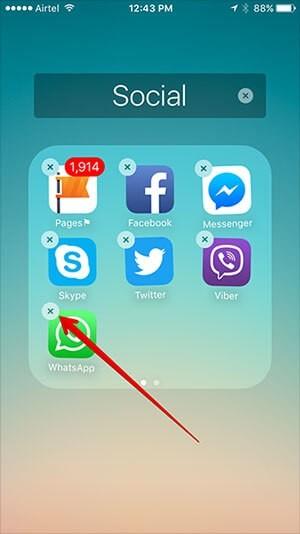 How to Hide Whatsapp App