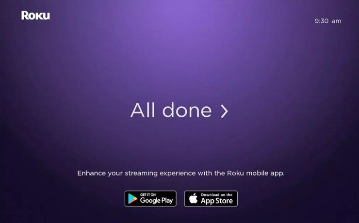 Roku Activated Successfully