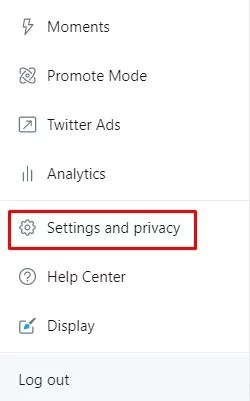 Settings & Privacy