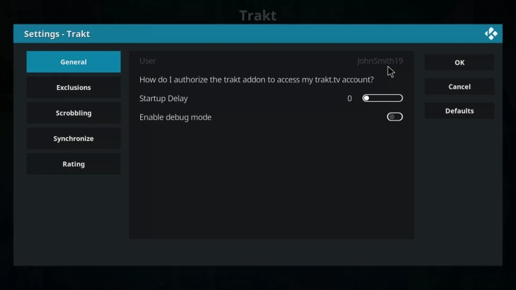 Trakt successfully authorized