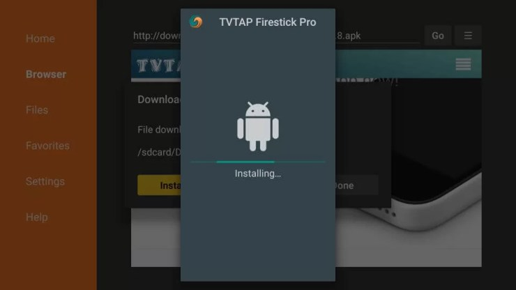 TvTap for Fire TV