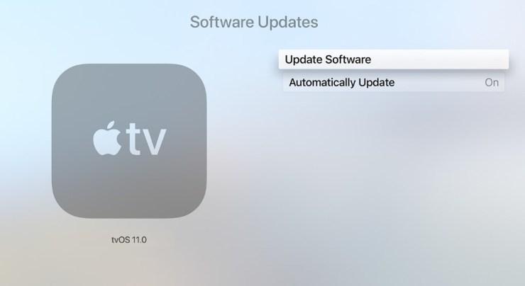 How to Update Apple TV