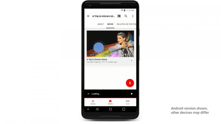 YouTube TV on Chromecast