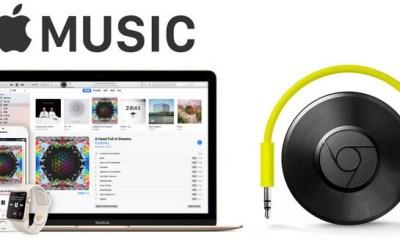 Apple Music to Chromecast