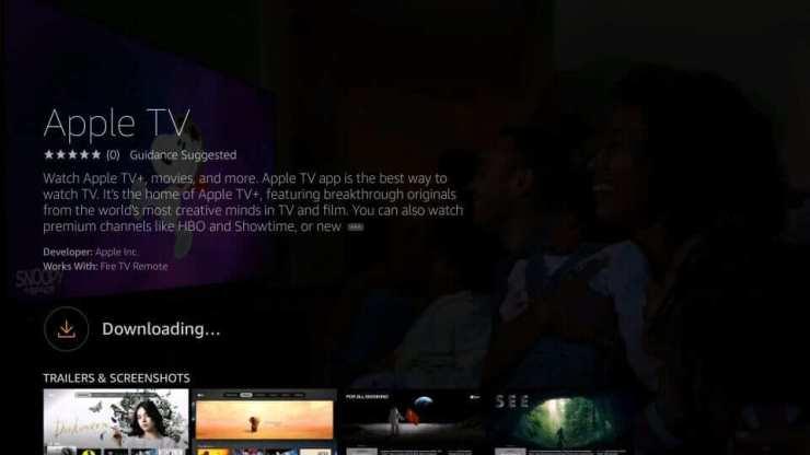 Download Apple TV App