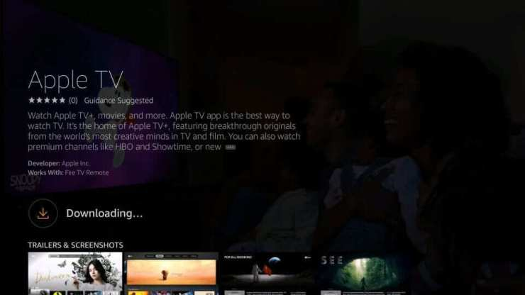 Download Apple TV App