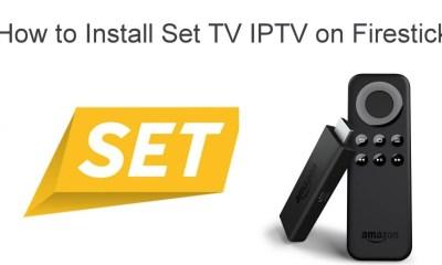 Set TV IPTV on Firestick