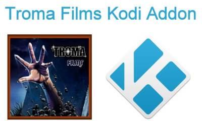 Troma Films Kodi Addon