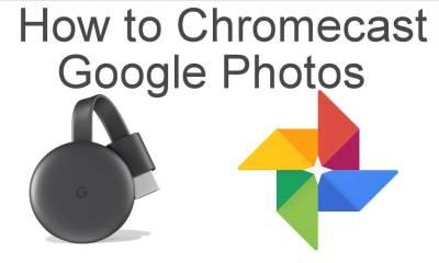 Chromecast Google Photos