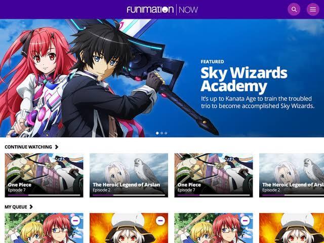 Chromecast Funimation Now