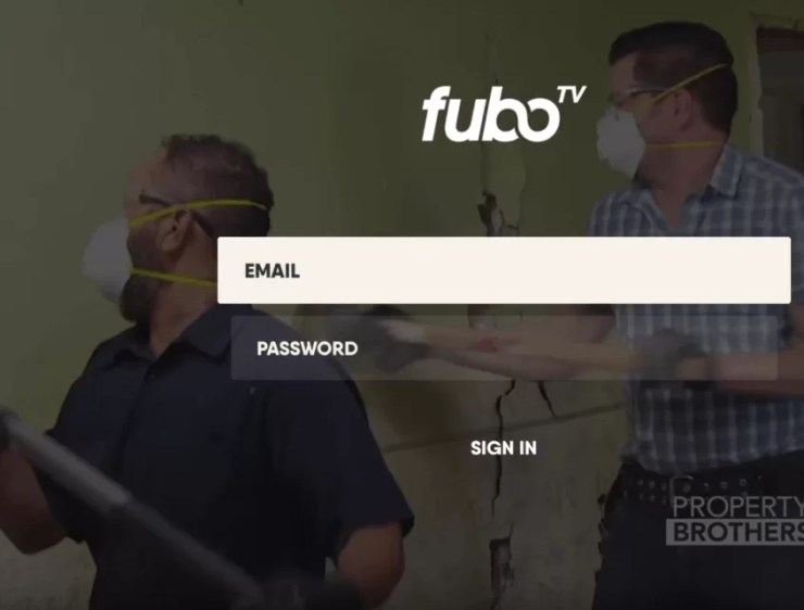 fuboTV on Apple TV