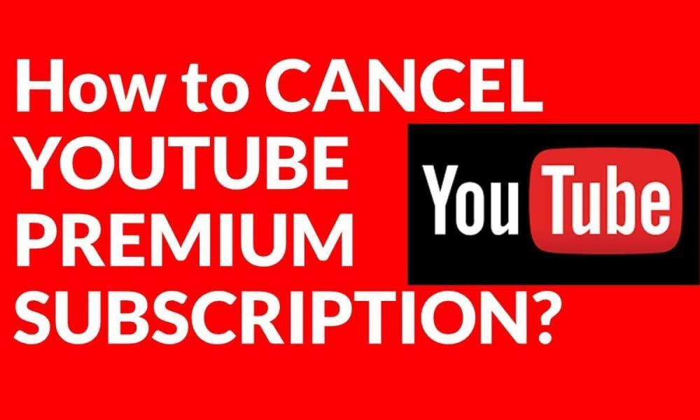 Cancel YouTube Subscription