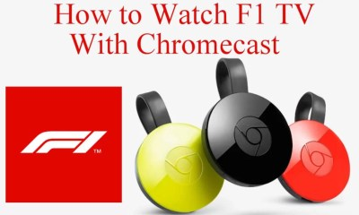 F1 TV Chromecast