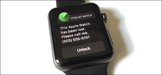 find Apple Watch