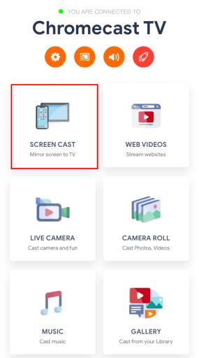 Chromecast Instagram using iPhone