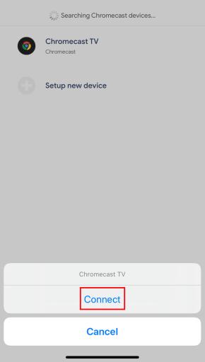 Chromecast Zoom Meeting using iOS