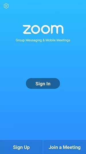 Join Meeting on ZOOM Cloud Meetings