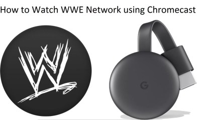 WWE Network Chromecast