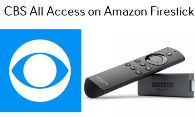 CBS All Access on Firestick
