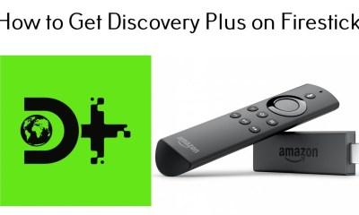 Discovery Plus App on Firestick