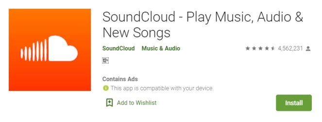 Install Soundcloud