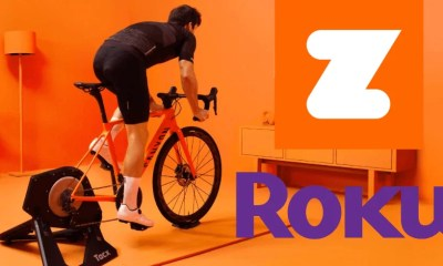 Zwift on Roku