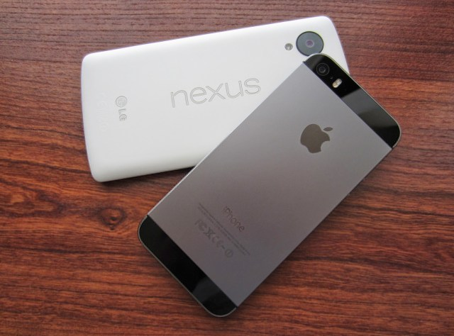 nexus vs iphone
