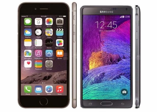 Samsung-Galaxy-Note-3-vs-Apple-iPhone-6-Plus