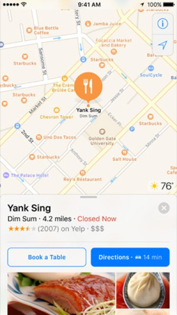 iOS-10-Maps-can-take-reservations