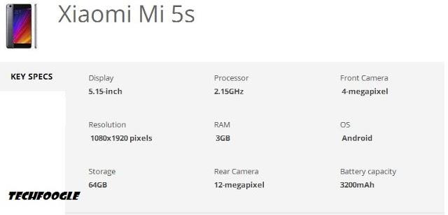 mi-5s-specs
