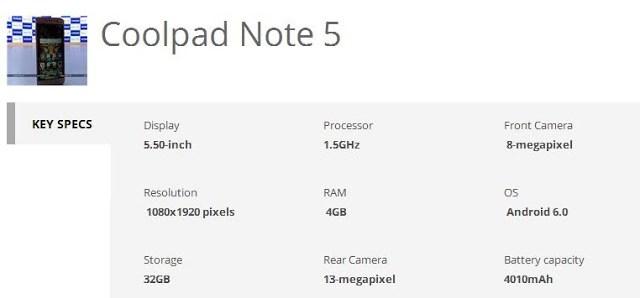 coolpad-note-5-specs-techfoogle