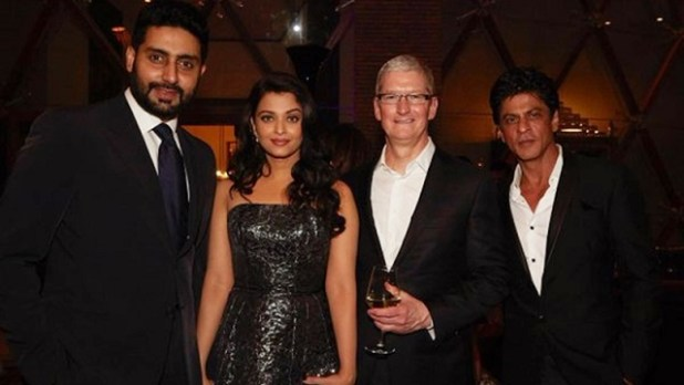 tim-cook-india-shahrukh