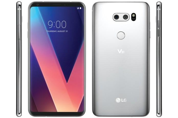 LG V30 Leak again