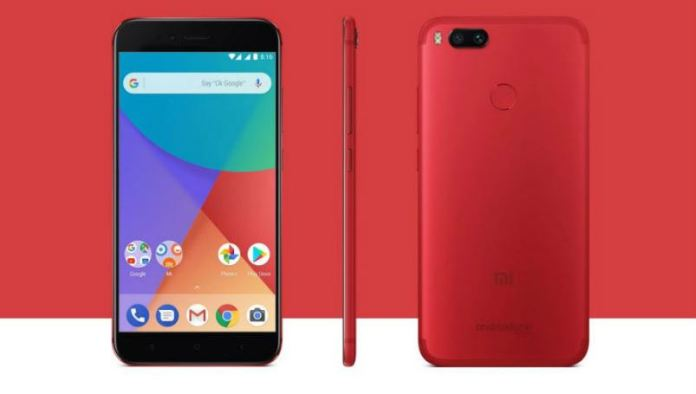 xiaomi-mi-a1-red-colour