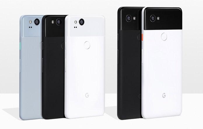 Google Pixel 2 and Pixel 2 XL Phones