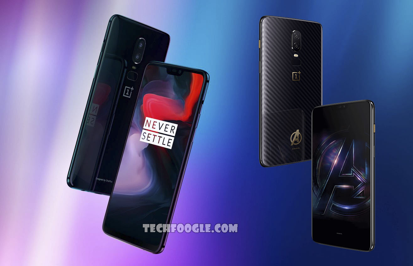 OnePlus 6 and OnePlus 6 Avengers Limited Edition