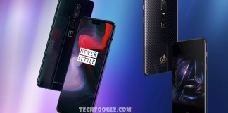 OnePlus 6 and OnePlus 6 Avengers Edition