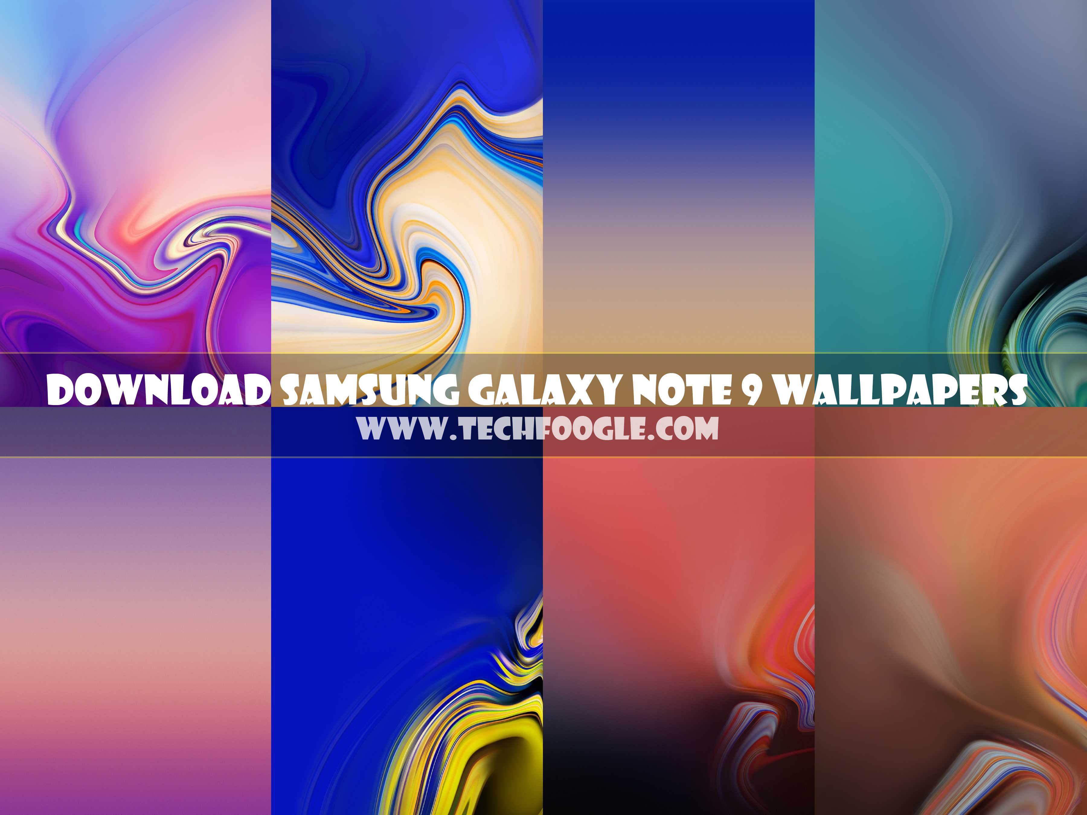 Free Download Samsung Galaxy Note 9 Stock Wallpapers Tech Foogle