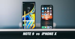 Samsung Galaxy Note 9 Vs iPhone X