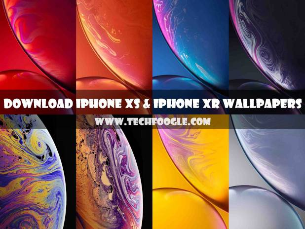 Free Download iPhone XS and iPhone XR Stock Wallpapers