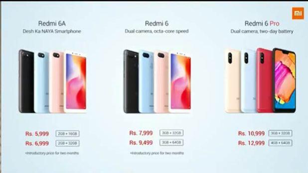 redmi-6a-redmi-6-redmi-6-pro-price