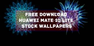 Free Download Huawei Mate 10 Lite Stock Wallpapers
