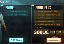 Pubg Mobile India Prime and Prime Plus Subscriptions Plains