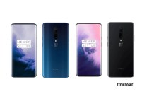 OnePlus 7 Pro Nebula Blue and Mirror Gray Colours