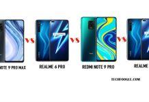 Redmi Note 9 Pro Max Vs Relme 6 Pro Vs Redmi Note 9 Pro Vs Realme 6