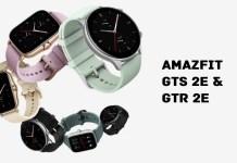 Amazfit GTS 2e and GTR 2e