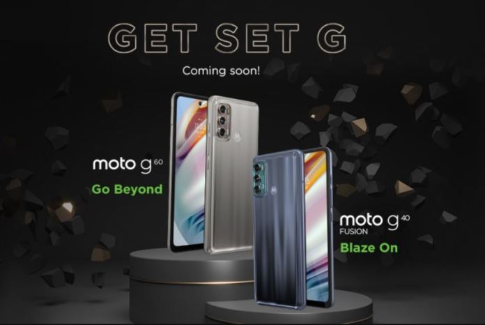 moto g60 and moto g40 India Launch