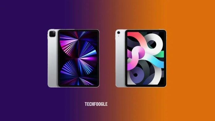 Apple iPad (9th Generation), iPad Air (5th Generation), and iPad mini 6 Surface on the Internet