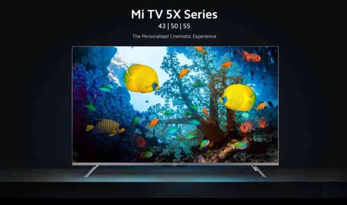 Xiaomi Mi TV 5X Series India